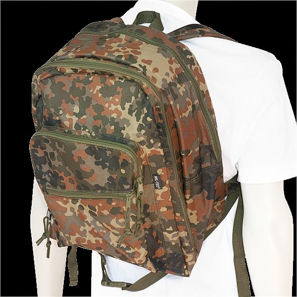 "25 Liter Daypack Rucksack ""Camouflage"" (in 2 Syles)"