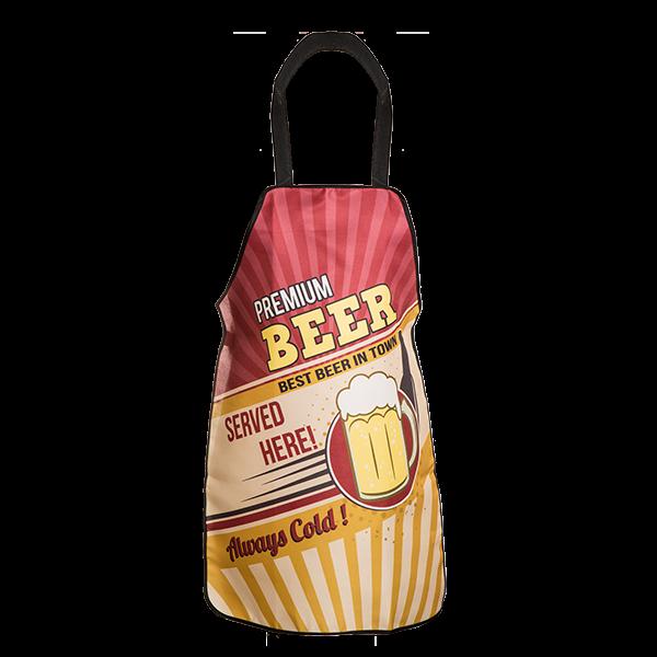 """Grill- und Küchenschürze """"Best beer in town"""""""