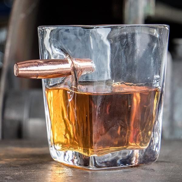 """Whiskeyglas """"Schusswechsel"""""""