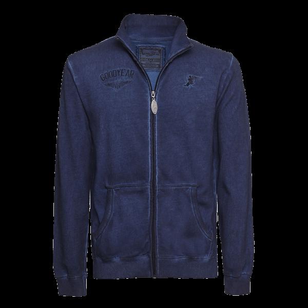 """Goodyear Reißverschluss-Sweater """"Emblem"""""""