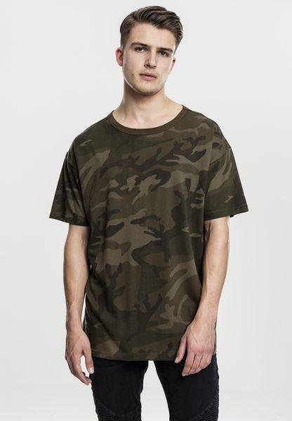 Camo Oversized T-Shirt von Urban Classics