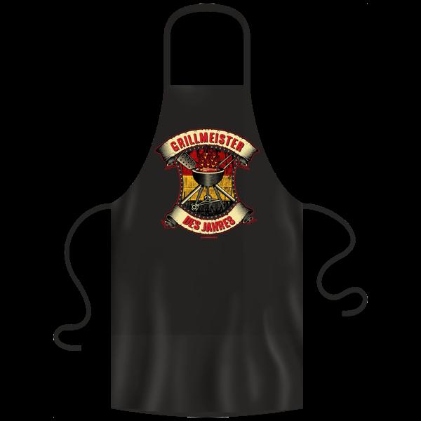 """Grill- und Kochschürze """"Grillmeister des Jahres"""""""