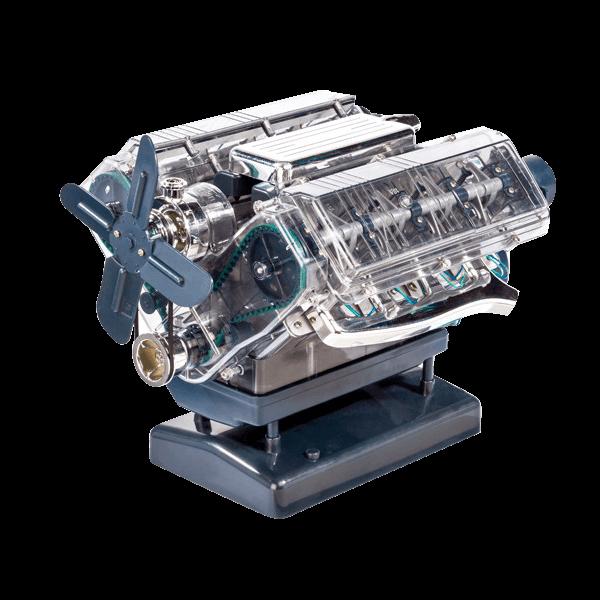 V8-Motor-Bausatz