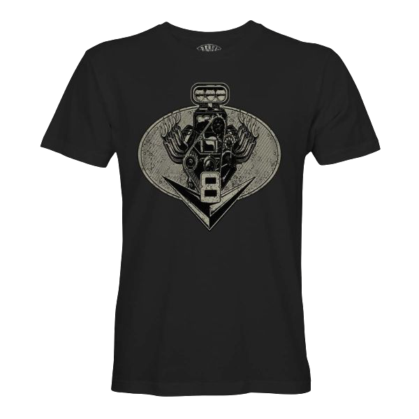 """T-Shirt """"V8"""""""