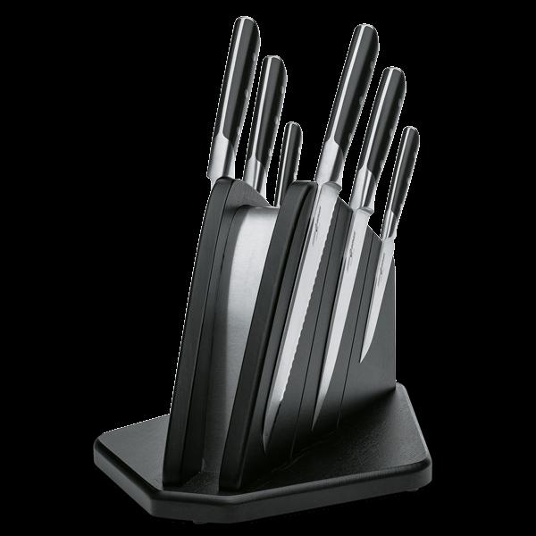 Messerblock mit 6 Premium-Küchenmessern
