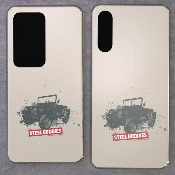 """Steel Buddies Cover """"Jeep"""" für Huawei P Modelle"""