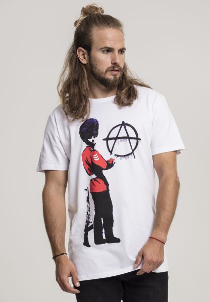 "Banksy T-Shirt ""Anarchy"""