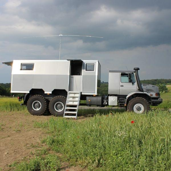 Expeditionsfahrzeug MB Zetros 6x6 Extreme
