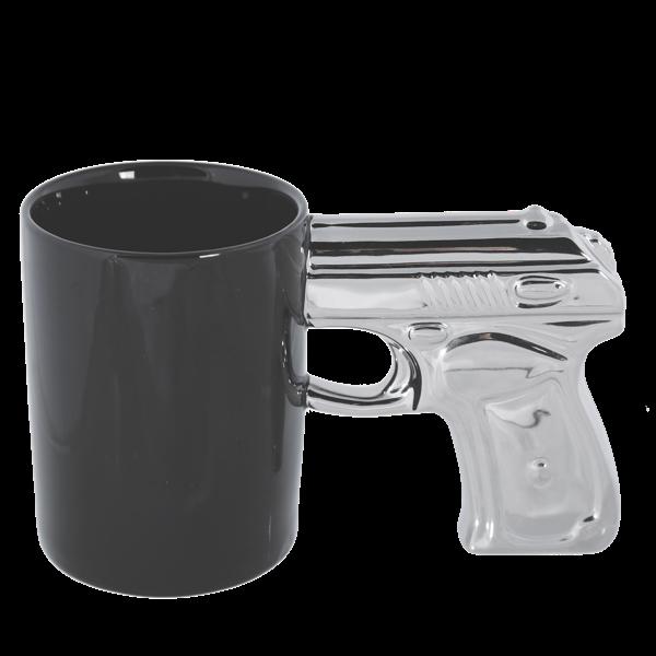 Tasse mit Pistolengriff