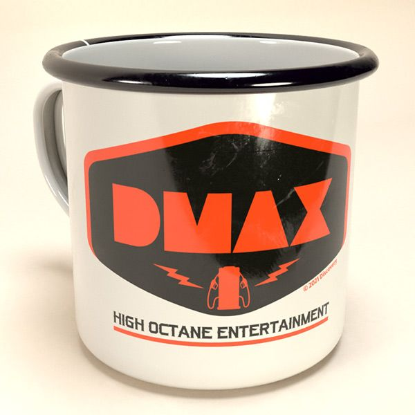 "DMAX Emaille-Becher ""High Octane Entertainment"""