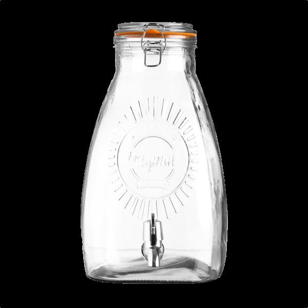 8 Liter Getränkespender mit Zapfhahn