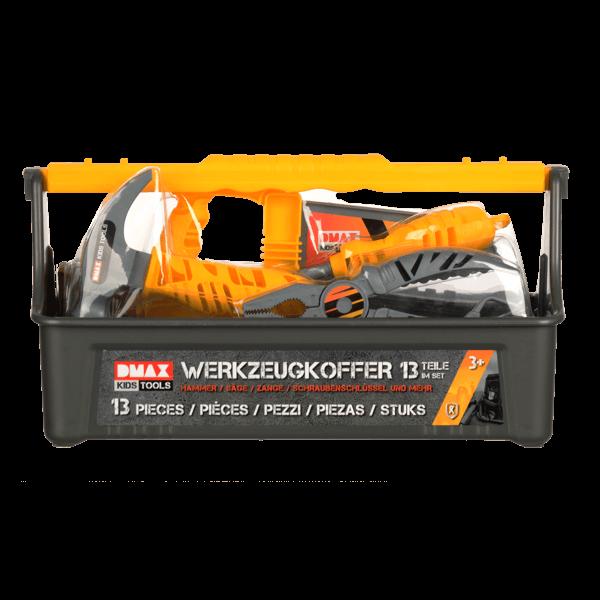 DMAX Kids Tools Werkzeugkoffer (13-teilig)