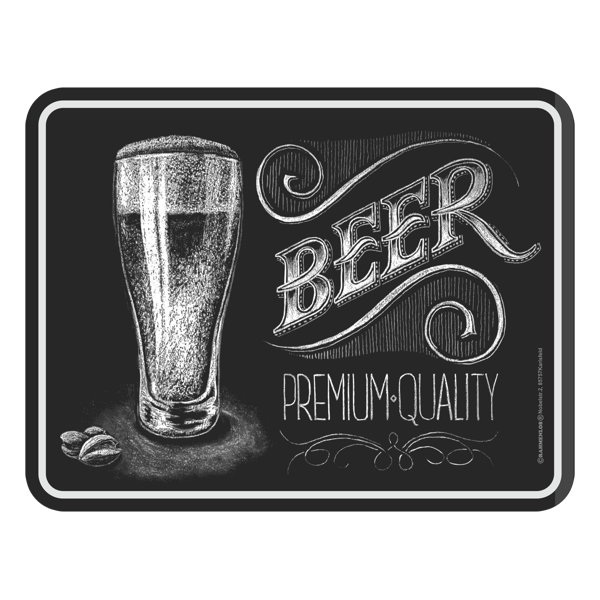 "Blechschild ""Beer"""