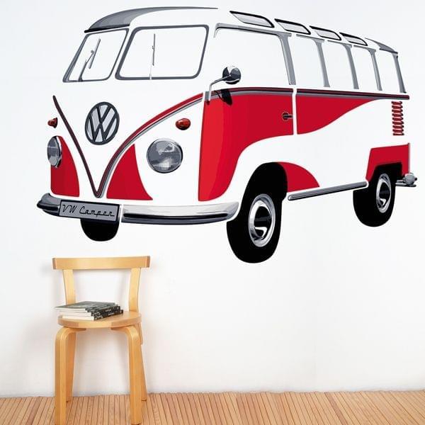 """Wandtattoo """"VW Bulli"""" (180 x 120 cm)"""