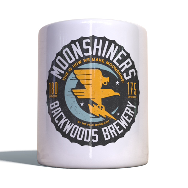 "Moonshiners Becher ""Backwoods Brewery"""