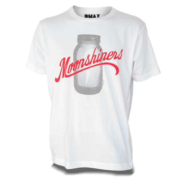 Moonshiners T-Shirt, weiß