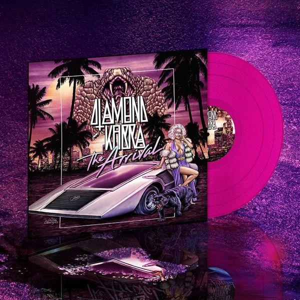 Diamond Kobra Vinyl Platte