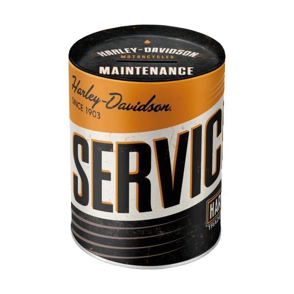 "Spardose ""Harley-Davidson Service"""