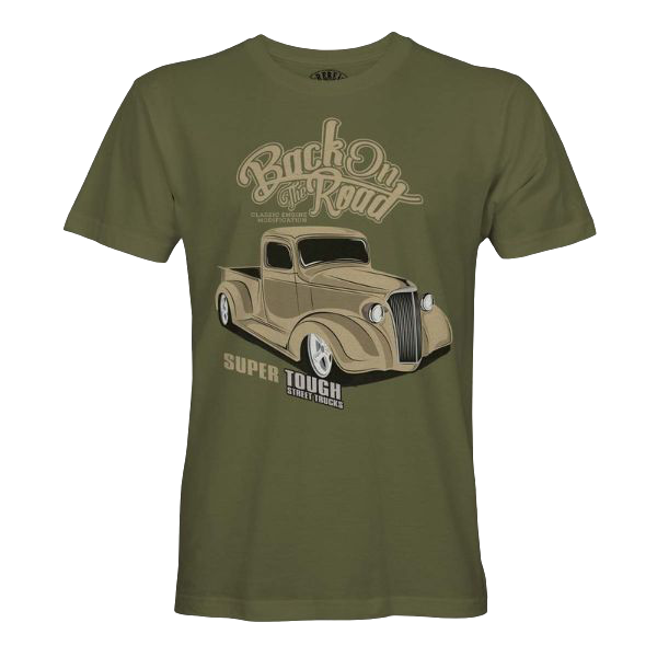 "T-Shirt ""Back On The Road"""