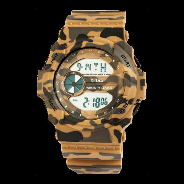 Armbanduhr im Camo-Style