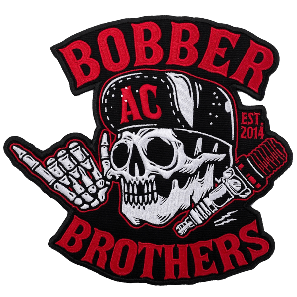 "Großes Patch ""Bobber Brothers Co."""