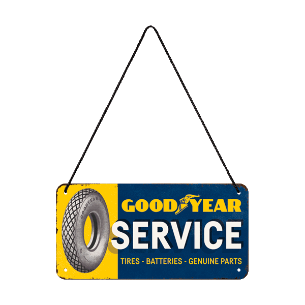"Goodyear Hängeschild ""Service"""
