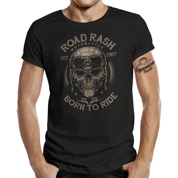 "T-Shirt ""Road Rash"" von Gasoline Bandit"