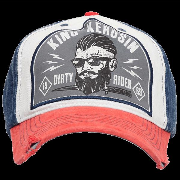 """King Kerosin Baseball Cap """"Dirty Rider"""""""