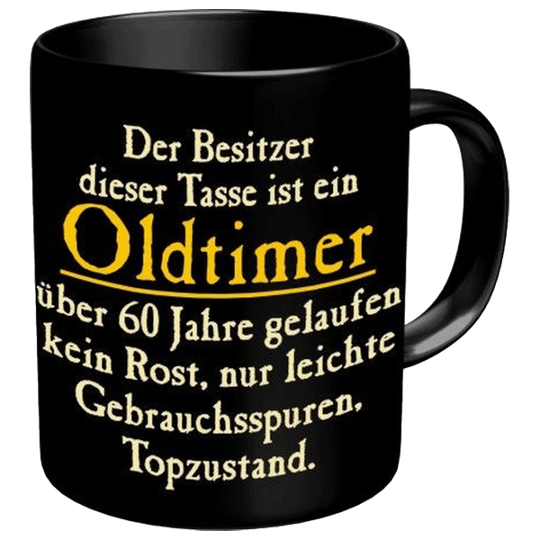 "Tasse ""Oldtimer"" 60"