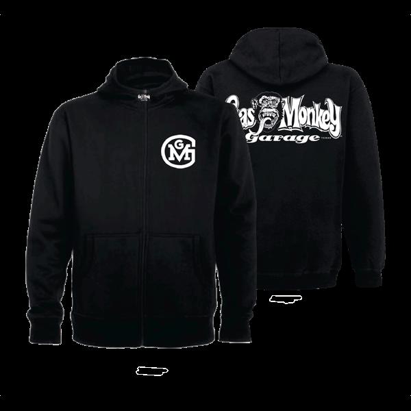 "Gas Monkey Garage Reißverschluss-Hoody ""OG Logo"""
