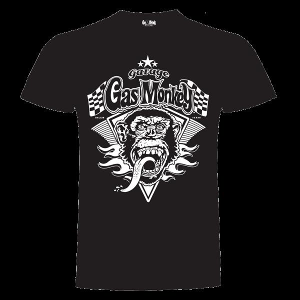 """Gas Monkey Garage T-Shirt """"Monkey Flame"""""""