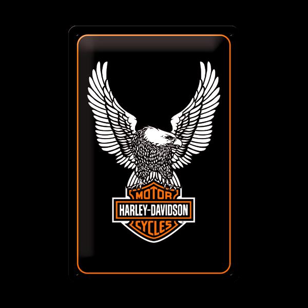 "Blechschild ""Harley-Davidson"" 20 x 30 cm"