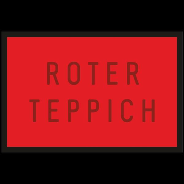 "Türmatte ""Roter Teppich"""