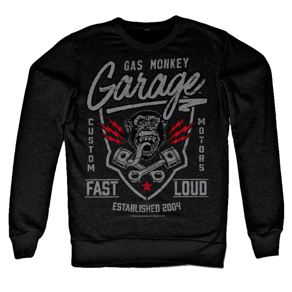 "Gas Monkey Garage Sweatshirt ""Fast 'N Loud"""