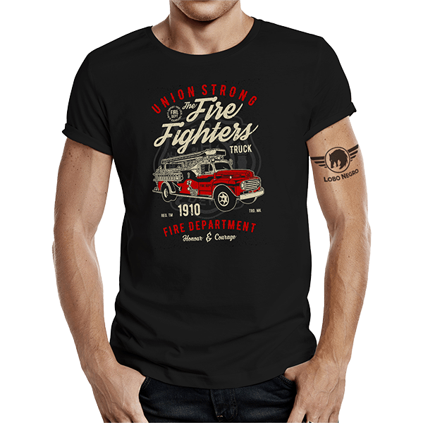 """T-Shirt """"The Fire Fighters Truck"""""""