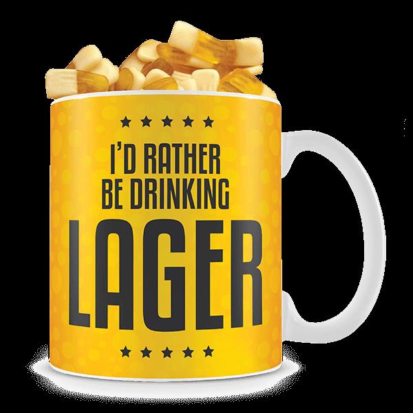 """Kaffeebecher """"Bier"""" mit Biergummi-Füllung"""