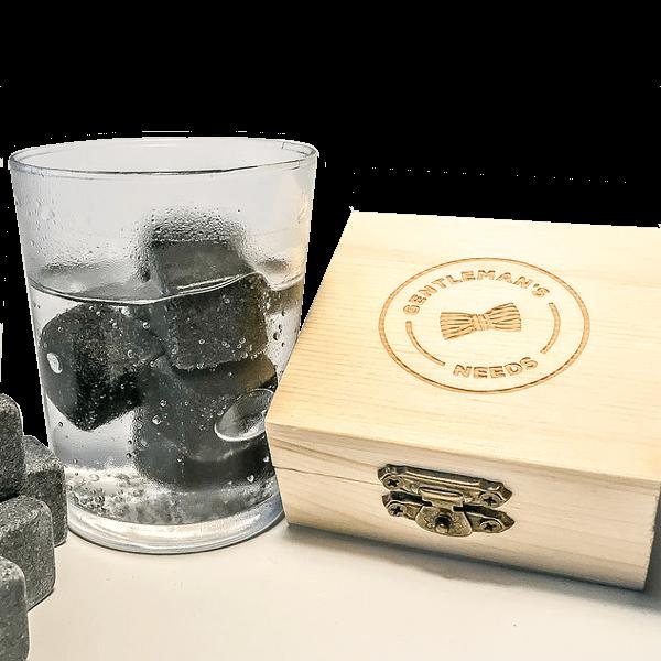 6 Gin-Kühlsteine
