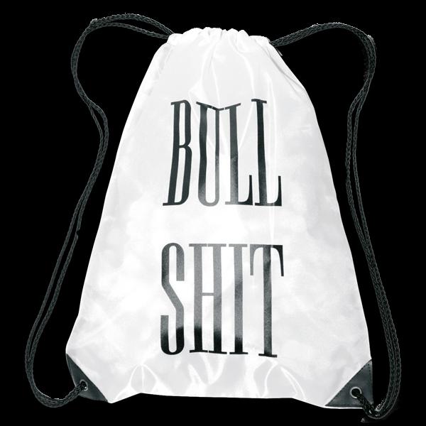 """Rucksackbeutel """"Bull Shit"""""""
