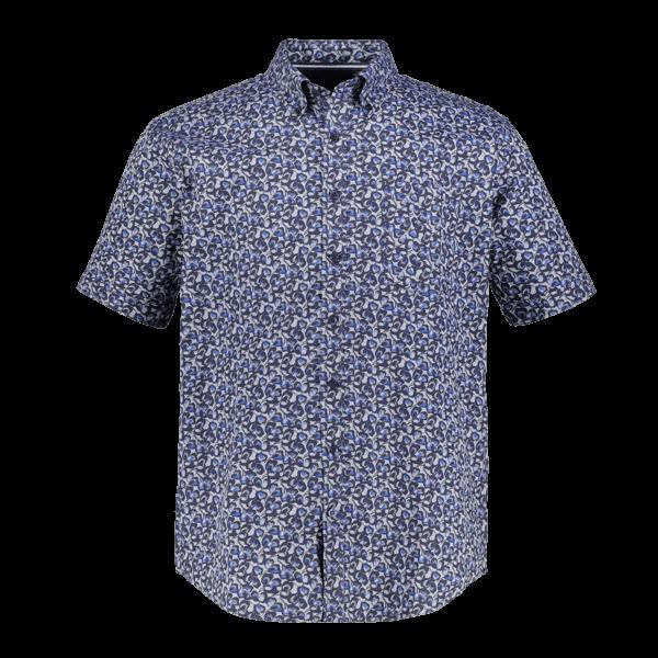 Gemustertes Kurzarmhemd von JP1880