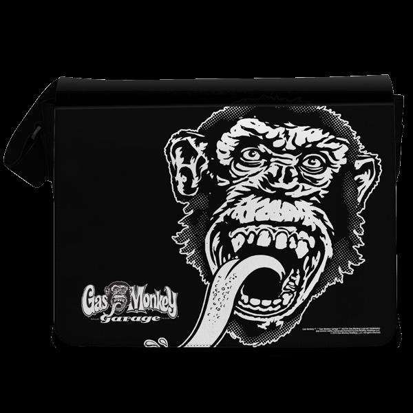 "Gas Monkey Garage Messenger Bag ""Big Monkey"""
