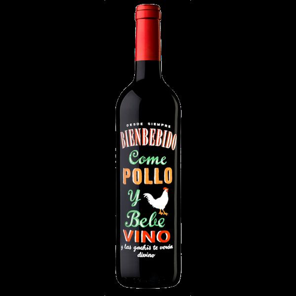 """Rotwein """"Pollo"""" - perfekt zu Huhn"""