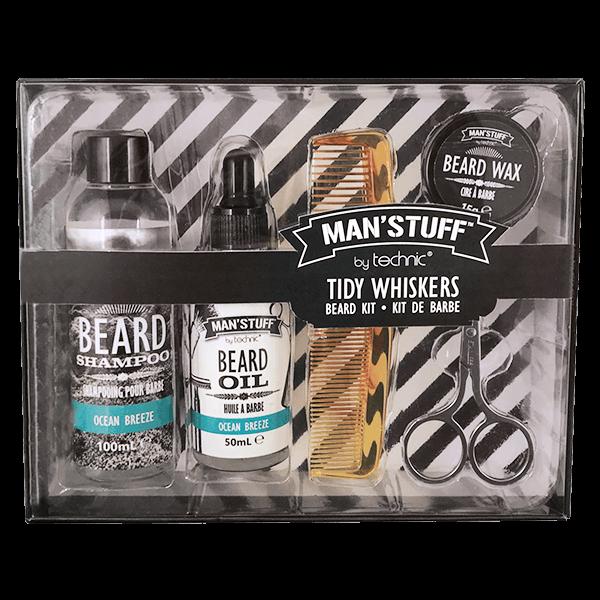 "5-teiliges Bartpflege-Set ""Tidy Whiskers"""