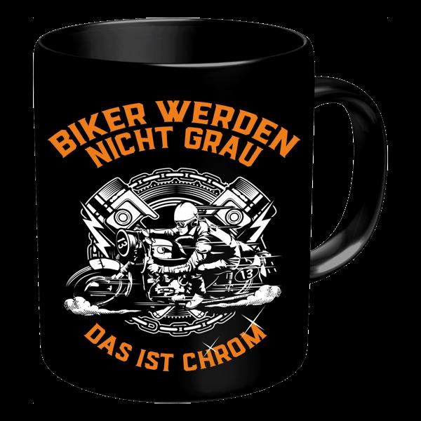 """Tasse """"Biker werden nicht grau"""""""