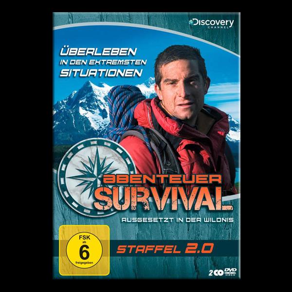 """DVD """"Abenteuer Survival - Staffel 2.0"""""""
