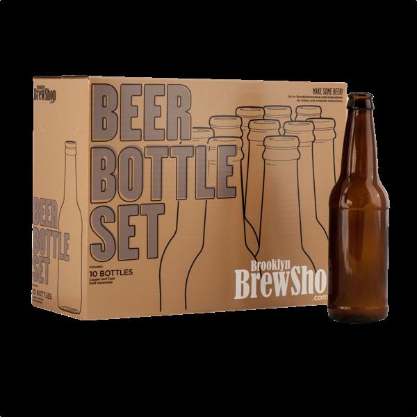 Amerikanisches Bierflaschen Set (10 Stück)