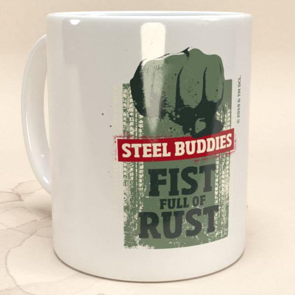 """Steel Buddies Tasse """"Fist Full of Rust"""""""