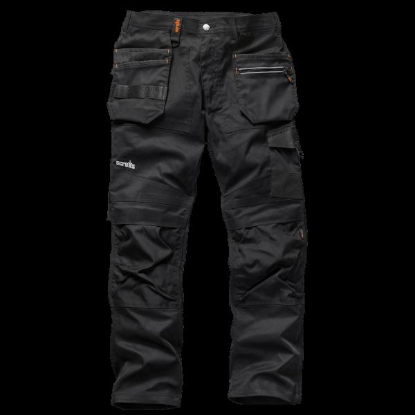 Slim-Fit Workwear-Hose mit Holstertaschen