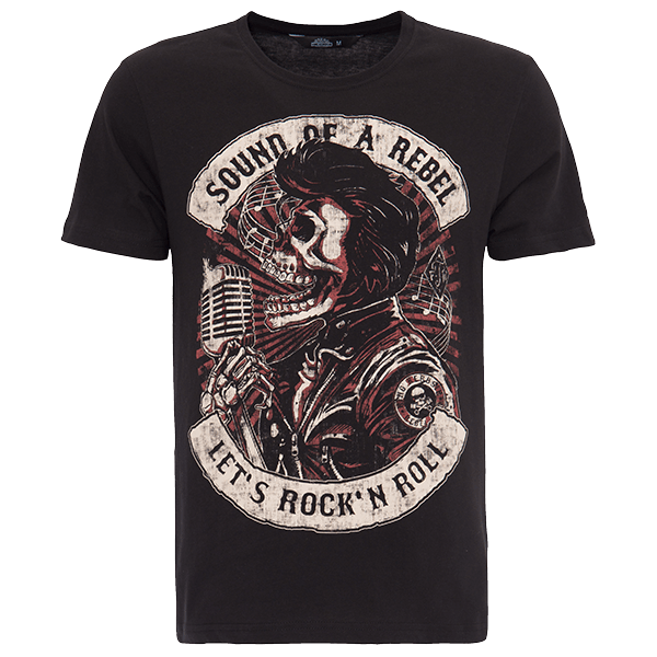 "King Kerosin T-Shirt ""Sound of a Rebel"""