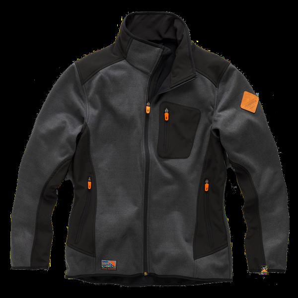 Wasserdichte Workwear Softshell-Jacke