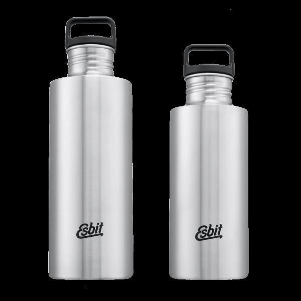 Edelstahl Trinkflasche (0,75 und 1 Liter)